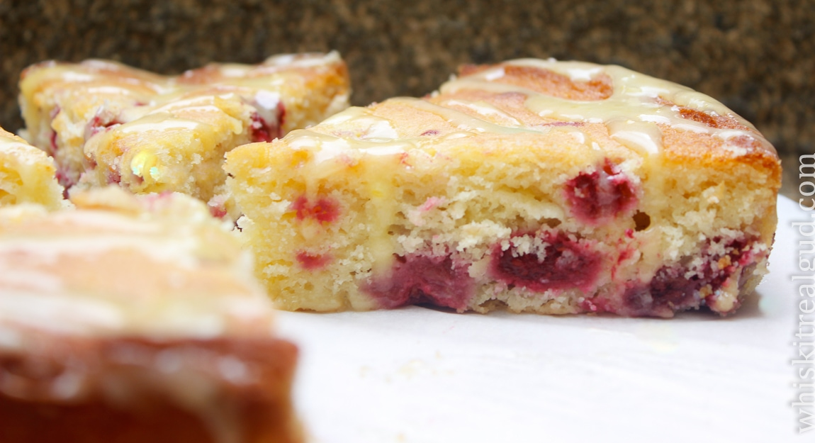 Raspberry Lemon Ricotta Cake