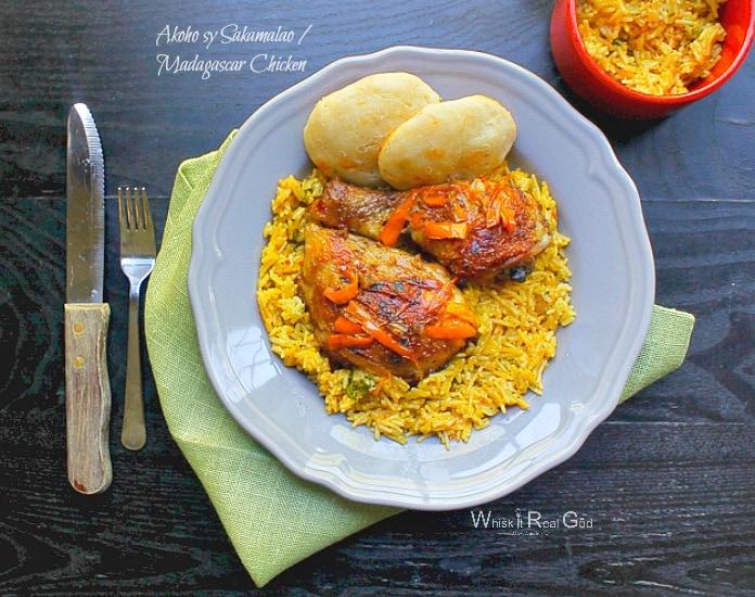 Akoho sy Sakamalao / Madagascar Chicken