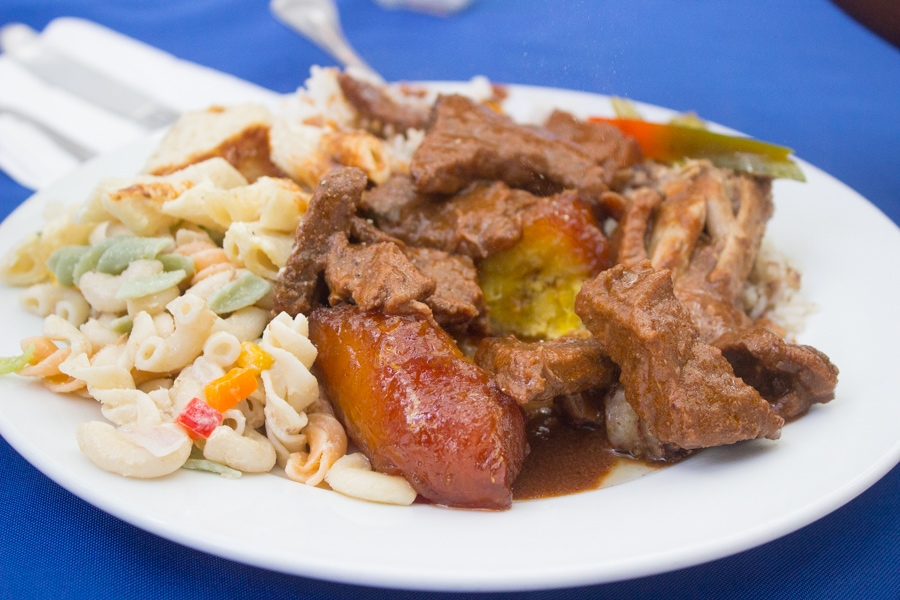Atarazana Restaurant in Santo Domingo.