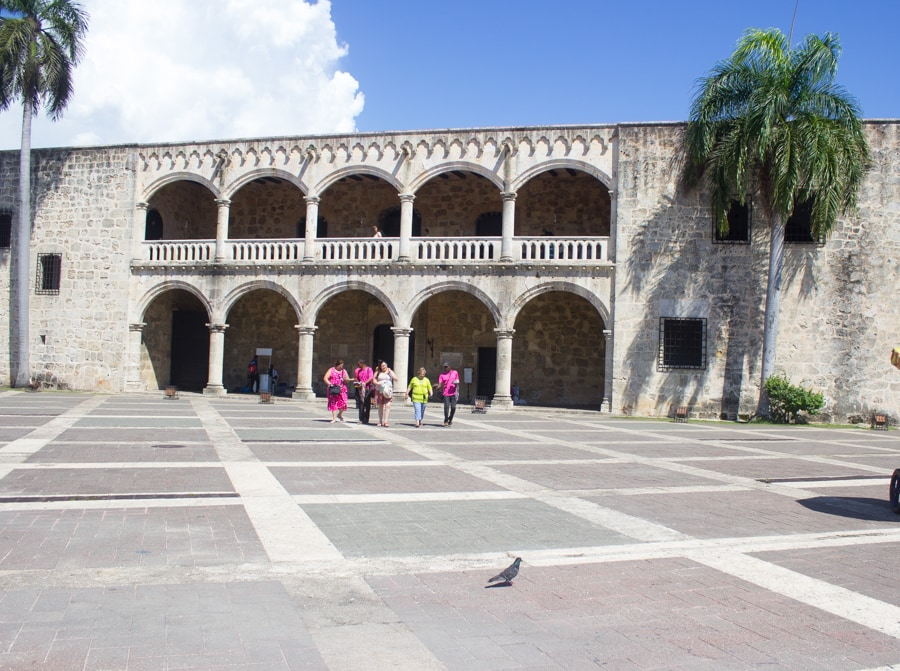 Alcazar de Colon Santo Domingo