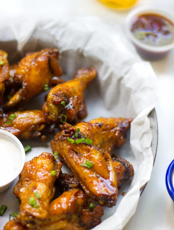 Sweet and Tangy Carrot And Honey Ginger Wings