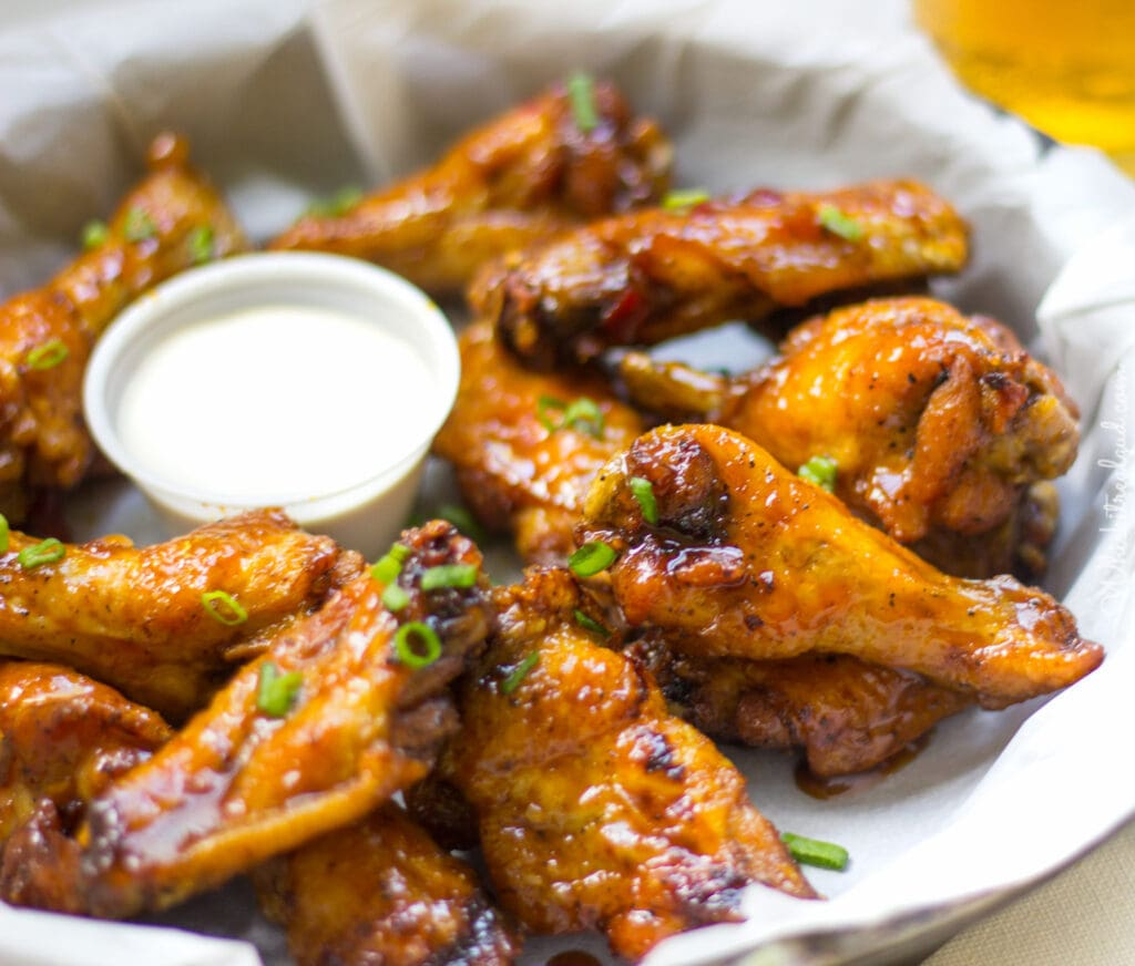 Sweet and Tangy Carrot And Honey Ginger Wings. Carrot Sauce for wings ...
