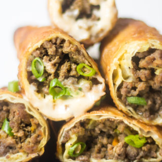 Middle Eastern Sambousek Egg Rolls