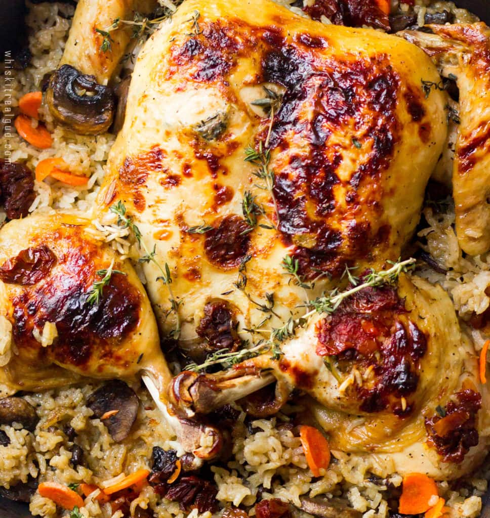 butterflied-roasted-chicken-and-rice-bake-with-apple-cider-thym-white-wine-glaze_-2-copy