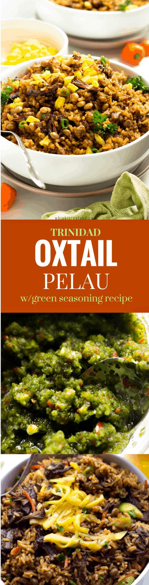 Trinidad Oxtail Pelau
