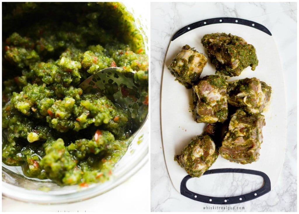 Caribbean Green Seasoning recipe