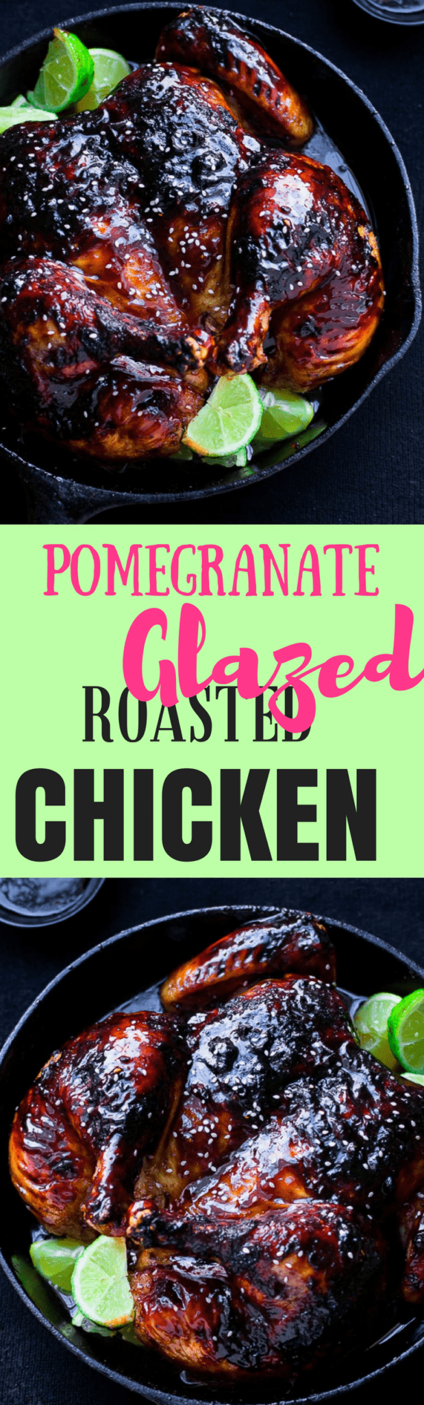 Pull dinner together in a jiffy with this delicious and super easy to prepare pomegranate chicken recipe. It tastes just as good as it looks!