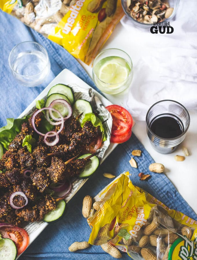 13 lovely minutes in the oven. That's all the time you need to make this mouth watering Beef Suya, A West African spicy street food kebab with a nutty, seasoning blend.