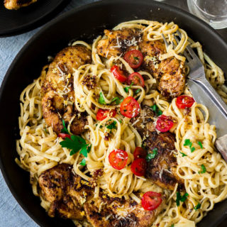 Our family's favorite! Looking for an easy and inexpensive pasta recipe to make? Try this 20 min spicy creamy Cajun chicken pasta. A quick and easy restaurant-quality Cajun pasta recipe!