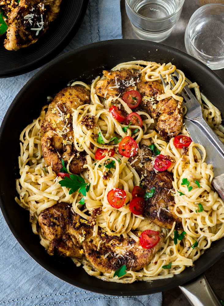 Our family's favorite! Looking for an easy and inexpensive pasta recipe to make? Try this 20 min spicy creamy cajun chicken pasta. A quick and easy restaurant-quality cajun pasta meal.