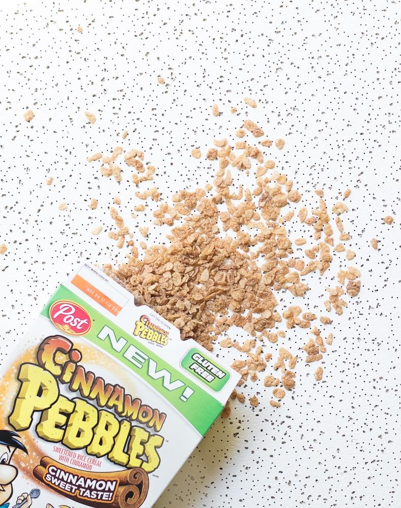 Cinnamon Latte Cereal Popsicles Post Cinnamon Pebbles