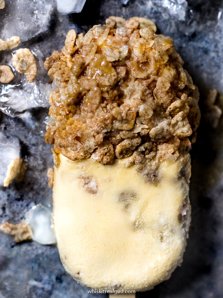 Cinnamon Latte Cereal Popsicles