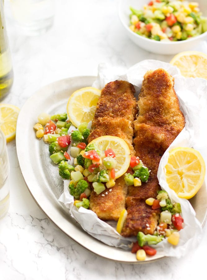 A simple quick meal perfect for the summer. Parmesan fish fried into a nice golden crust. So delicious! Nothing like a tasty crispy and flaky Parmesan fillet. Only 6-8 minutes to cook! I'm so obsessed with this fish! Join in on the obsession!