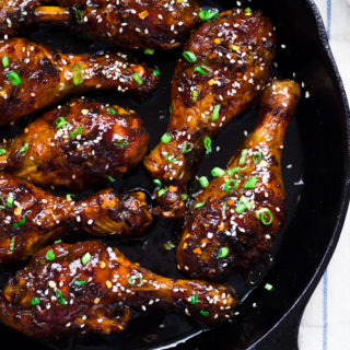 Teriyaki Crispy Chicken Legs