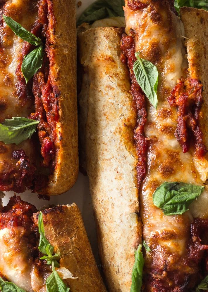 Mozzarella Italian Sausage Sandwich