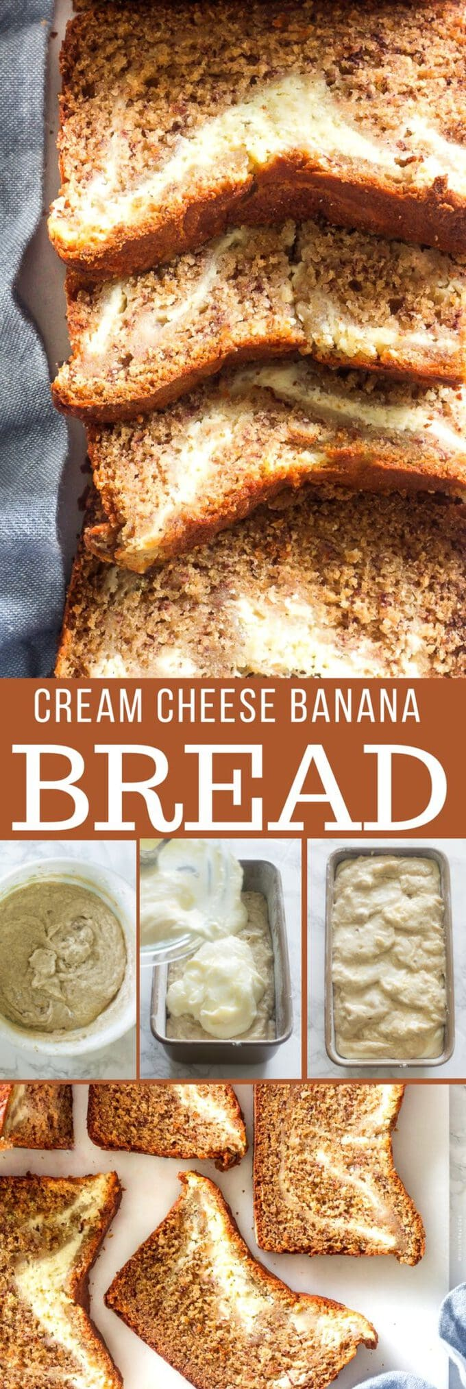 This moist cream cheese banana bread is easy to make. It reminds me of the comforting treats I grew up eating. This recipe calls for simple pantry ingredients that you probably already have on hand.
