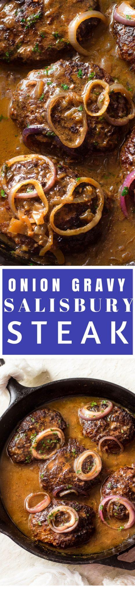 Salisbury Steak Recipe With Onion Gravy
