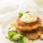 Delicious Fresh Salmon Patties-Cakes
