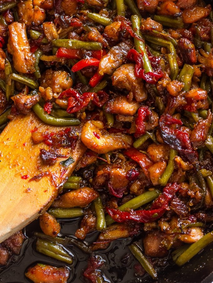 Thai Chicken Stir fry with Green Beans