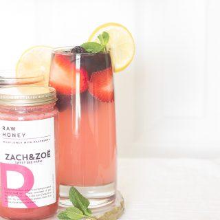 Red Wine and Berries Lemonade