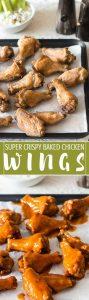 So Crispy Baked Chicken Wings