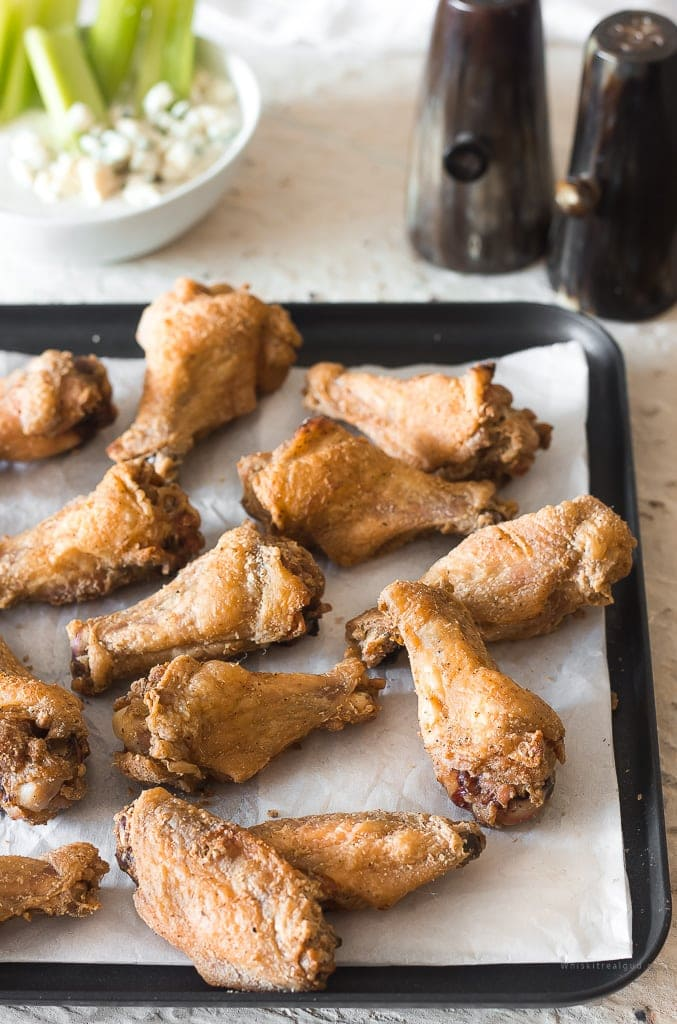 So Crispy Baked Chicken Wings