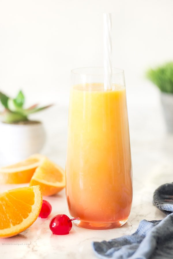 Tequila Sunrise Mocktail Recipe