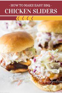 Best Ever Chicken Sliders (BBQ Chicken Thigh Recipe)