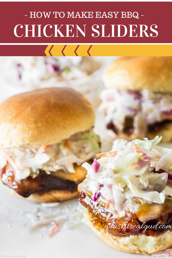Best Ever Chicken Sliders (BBQ Chicken Thigh Recipe)