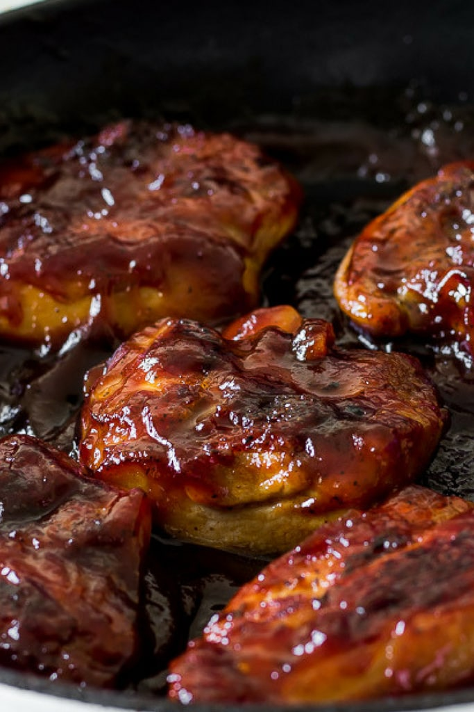 BBQ Chicken thighs