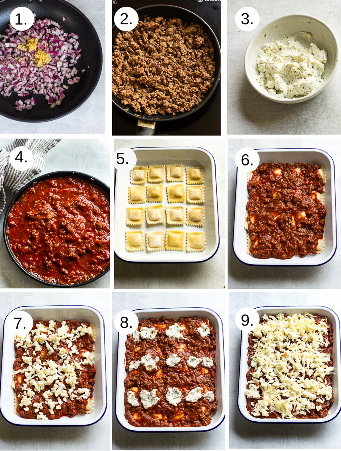 How to make lasagna step by step