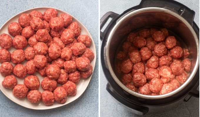 meatballs in an instant pot