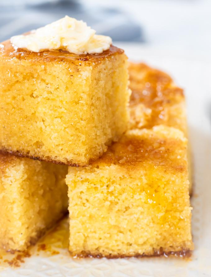 Moist Southern Sweet Cornbread Cornbread Cake Popular Video