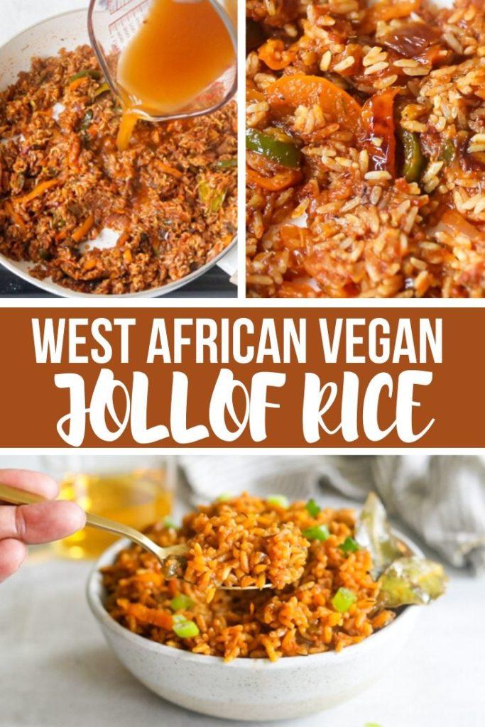 jollof rice pinterest pin