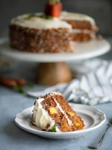 Photo of a pineapple carrot cake