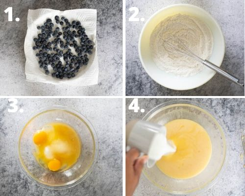How to make muffins step by step