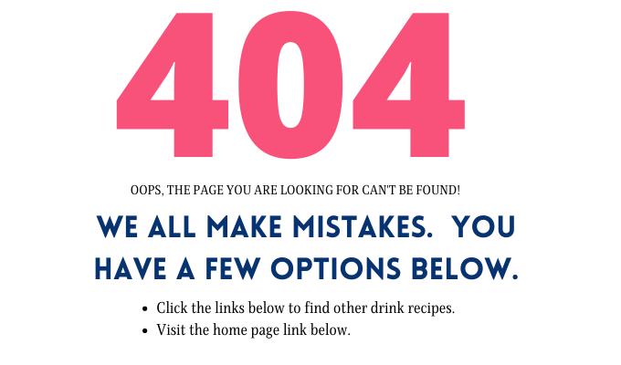 A 404 error page